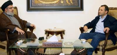 Le ministre Bassil chez Sayed Nasrallah