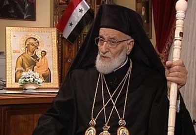 Le patriarche Gregorios Laham III.