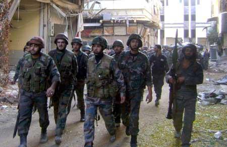 L'armée syrienne avance dans le Qalamoun.