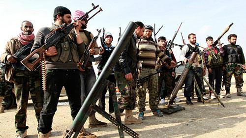 Les Etats-Unis et leurs alliés préparent une offensive contre Damas à partir de la frontière jordanienne