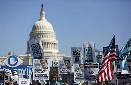 USA: vote anti-NSA à une large majorité à la Chambre des représentants.