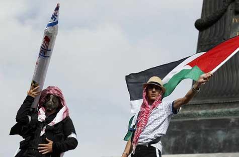 Manifestations pro-palestiniennes dans plusieurs villes de France.