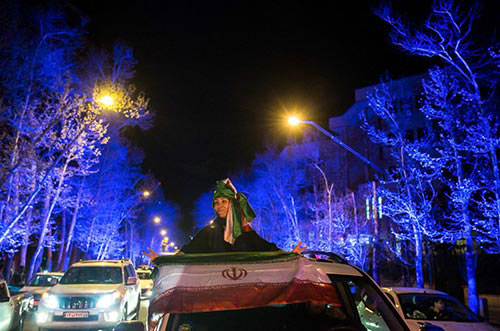 Les Iraniens célèbrent l'accord sur le nucléaire (photos)