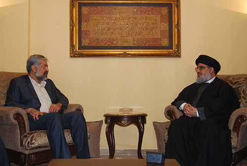 L'émissaire spécial du président iranien chez sayed Nasrallah