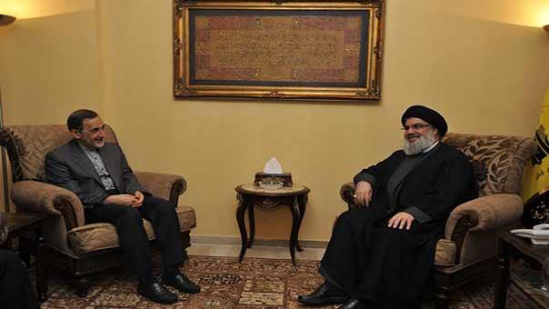 Le conseiller du sayyed Khamenei chez sayyed Nasrallah