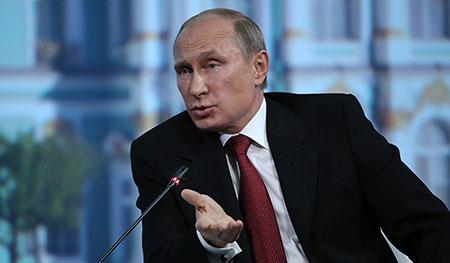 Saisie d'avoirs russes à l'étranger: «Nous allons défendre nos intérêts», dit Poutine.