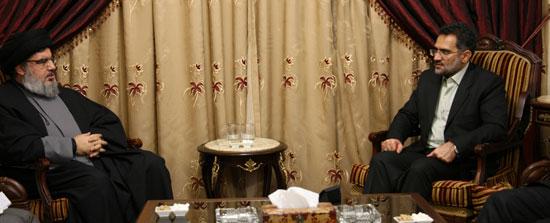 Le ministre iranien de la Culture chez sayed Nasrallah