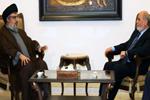 Sayed Nasrallah reçoit Hardan: la majorité assumera ses responsabilités pour réaliser les aspirations des libanais