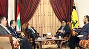 Sayed Nasrallah reçoit le général Aoun: Faire face aux menaces dangereuses d'«Israël» et des takfiris