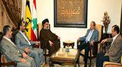 Sayed Nasrallah reçoit le général Aoun: Faire face au terrorisme takfiri