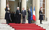 Rohani en France : Paris sort le tapis rouge