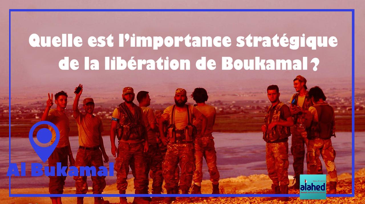 Quelle est l'importance stratégique de la libération de Boukamal?
