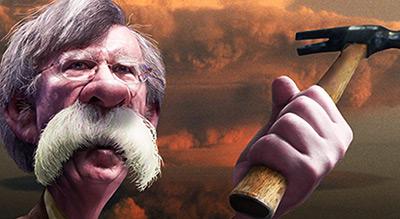 John Bolton, un faucon caricatural