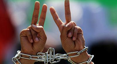La journée du prisonnier palestinien, 17 avril