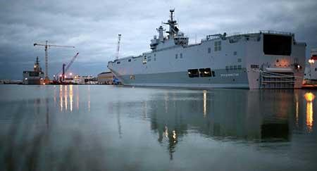 Mistral: Moscou annonce un accord avec Paris pour un dédommagement.