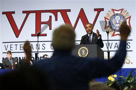 Nucléaire iranien: Obama tente de rallier le soutien des anciens combattants.