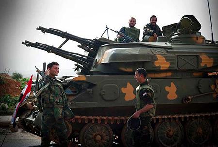 Sahl al-Ghab, Palmyre, Zabadani: l'armée syrienne est à l'offensive