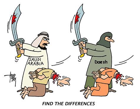 En 2015, l'Arabie saoudite a décapité plus que «Daech».