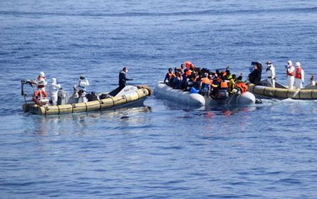 Plus d'un demi-million de migrants ont traversé la Méditerranée en 2015, selon l'ONU.
