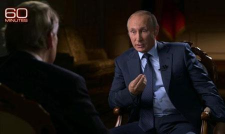 Poutine: soutenir Assad est le seul moyen d'arrêter la guerre en Syrie.