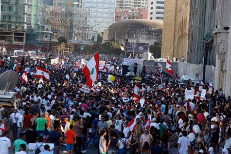Liban: Attention à l'instrumentalisation de la colère des jeunes.