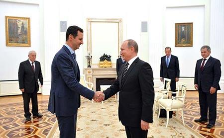 Pas de victoire sur «Daech» sans Assad et la Russie.