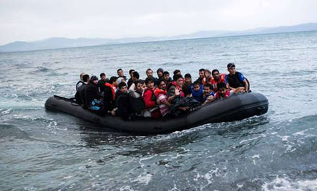 Plus de 700.000 migrants arrivés en Europe via la Méditerranée cette année.