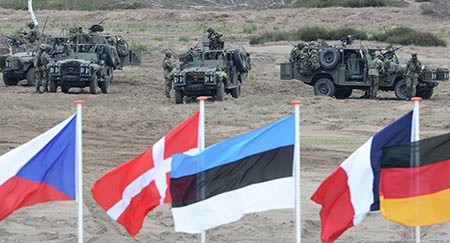 L'Otan compte renforcer sa présence près des frontières russes.