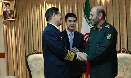 Un amiral chinois en Iran pour renforcer les relations militaires.