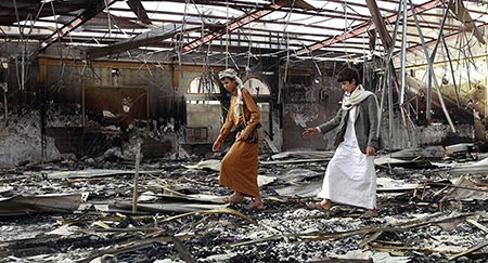 Au Yémen, 95% de civils tués lors des frappes saoudiennes.