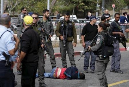 Pour une majorité d'Israéliens, les Palestiniens doivent être «abattus sur le coup».