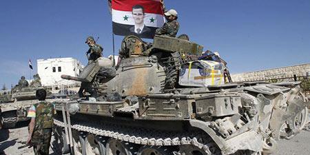 L'armée syrienne reprend le contrôle d'une ville dans le centre