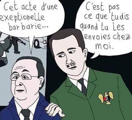 El-Assad : la politique française a contribué à l'expansion du terrorisme