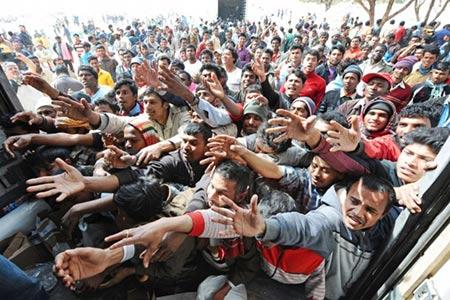 Arrivée de 3 millions de migrants d'ici 2017 en Europe, selon Bruxelles.
