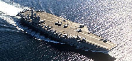 L'efficacité stratégique des porte-avions US mise en question