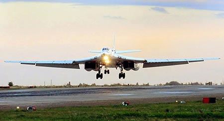 L'aviation russe a utilisé 20 missiles de croisière en Syrie.