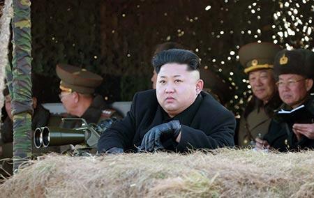 Corée du Nord: Kim Jong-Un évoque la bombe H.