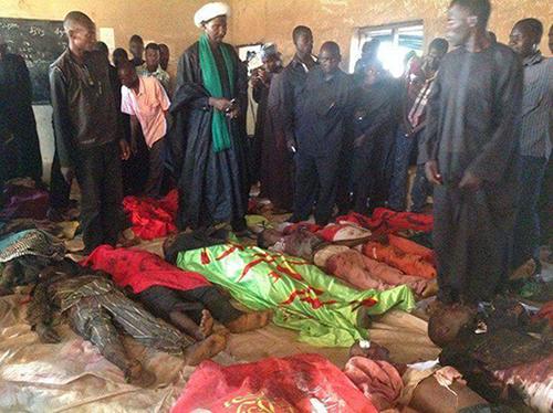 Des dizaines de personnes massacrées par l'armée