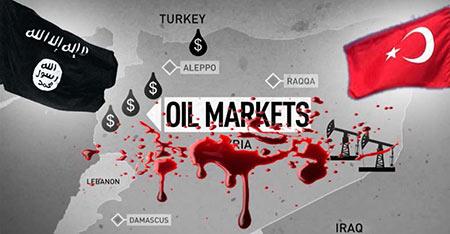 La plupart du pétrole trafiqué par «Daech» livré à la Turquie pour y être vendu à bas prix