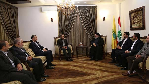 Le conseiller du sayed Khamenei chez sayed Nasrallah.