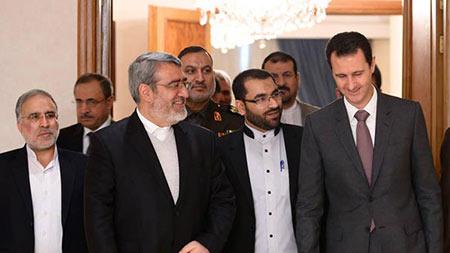 Assad apprécie les positions de l'Iran face au terrorisme