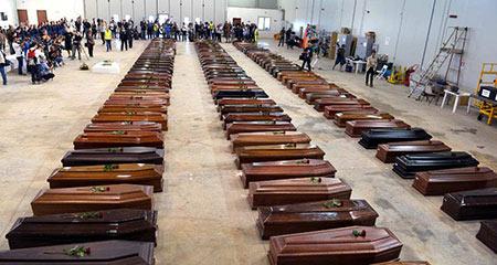 Nombre record de migrants morts en Méditerranée en 2015