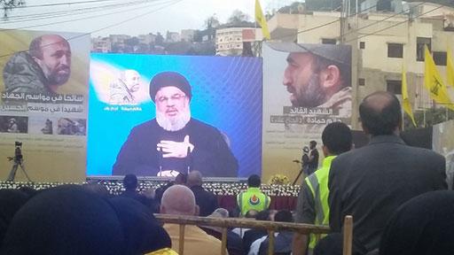 Sayed Nasrallah: «Nous resterons en Syrie jusqu'à la défaite totale des takfiristes»