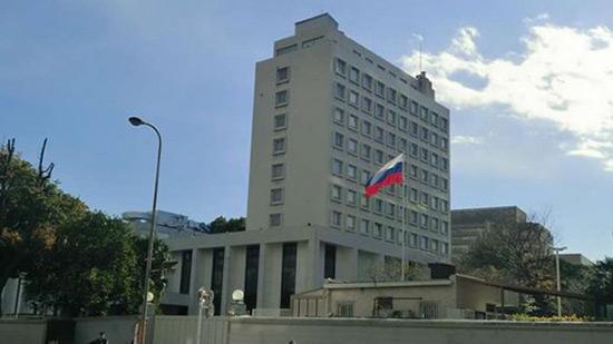Le «Front al-Nosra» pilonne l'ambassade russe à Damas.