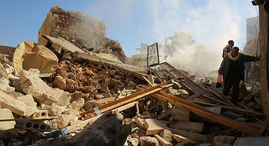 Les échantillons le confirment: les extrémistes utilisent des armes chimiques à Alep.