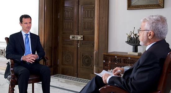 Assad: Trump sera un «allié naturel» de Damas s'il lutte contre le terrorisme.