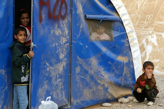 Irak: 600.000 enfants parmi les civils piégés dans Mossoul.