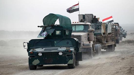 Irak: les Hachd al-Chaabi atteignent un aéroport à l'ouest de Mossoul.