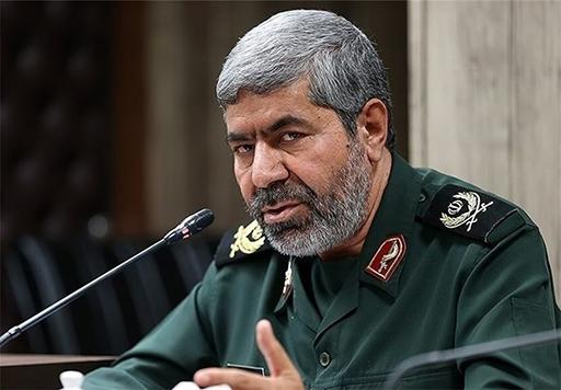 Le porte-parole de la Garde révolutionnaire le général Ramadan Sharif