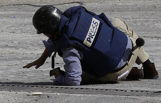 57 journalistes ont été tués en 2016, dont 19 en Syrie